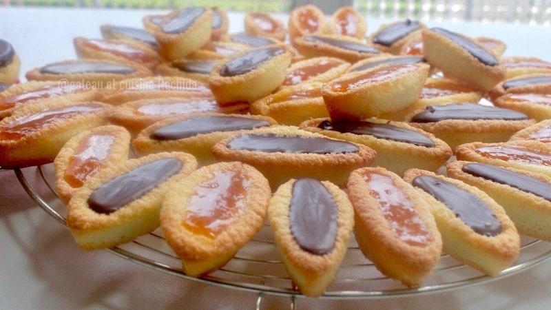 barquettes à la fraises et barquettes au chocolat
