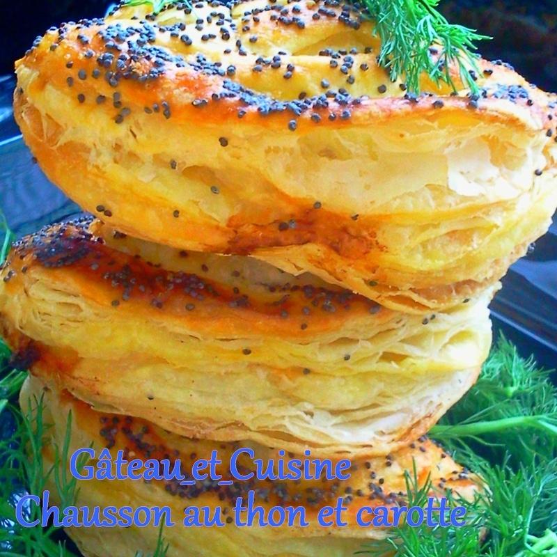 chaussons au thon feuilletés -recette ramadan