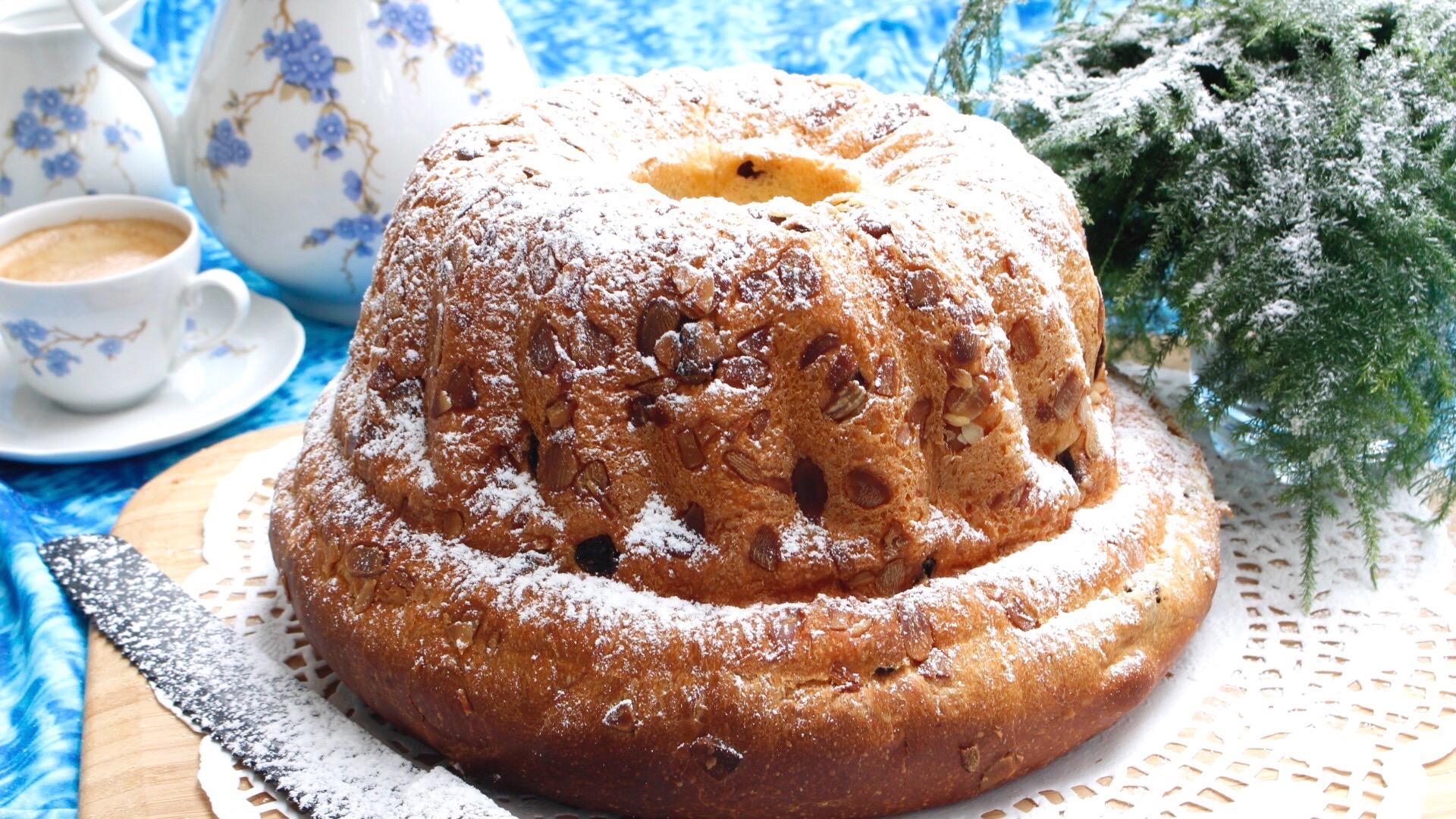 Kouglof ou kougelhopf recette alsacienne super aérien-brioche maison ,le kouglof