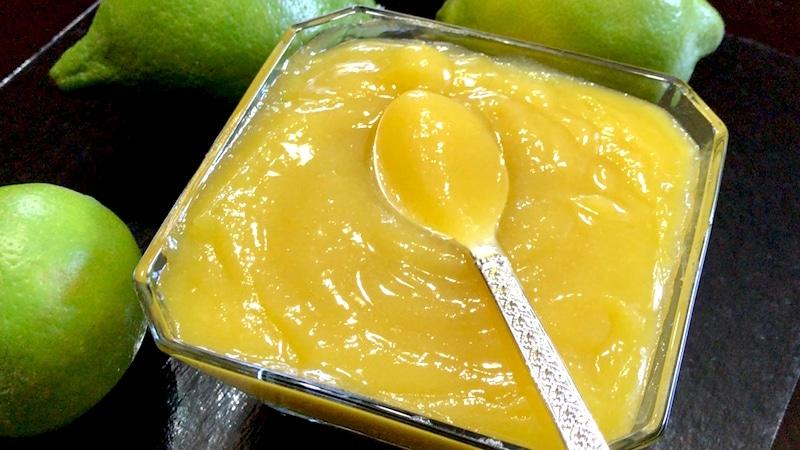 Recette de la crème au citron pour tarte