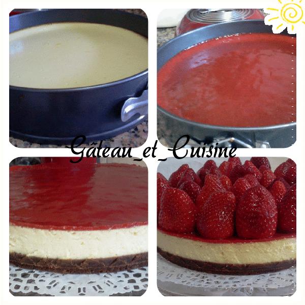 cuisson du cheesecake