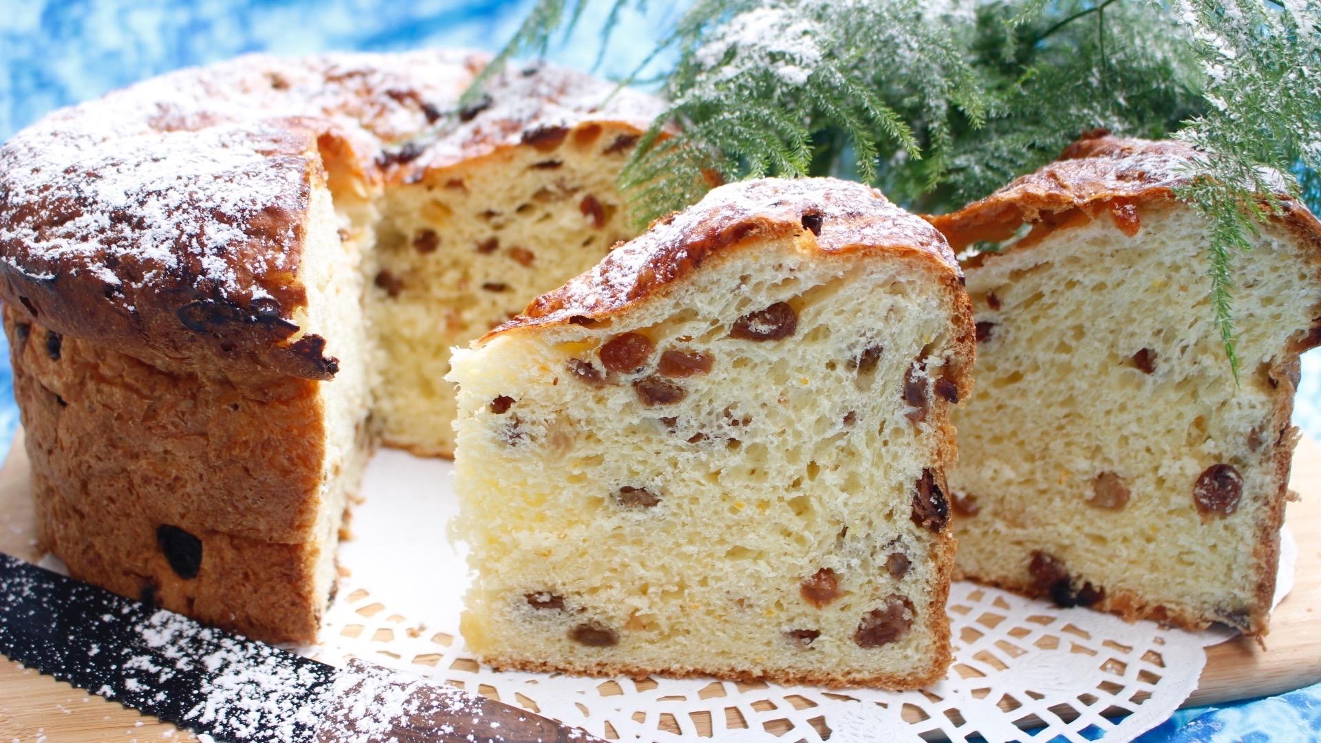 le panettone,la vraie recette italienne