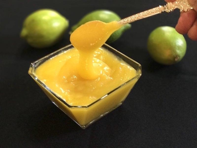 recette du lemon curd - crème de citron