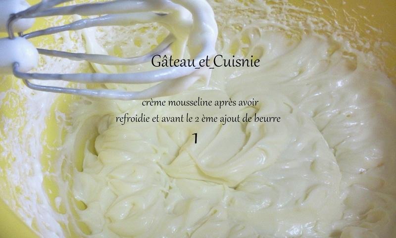 crème mousseline fraisier 2