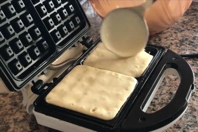 recette gaufre cuite dans un gaufrier élèctrique pas cher
