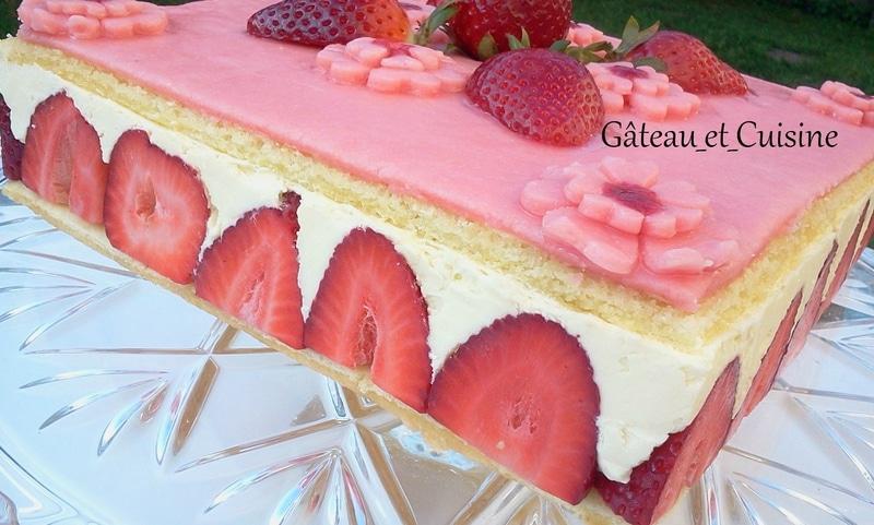 fraisier recette cap
