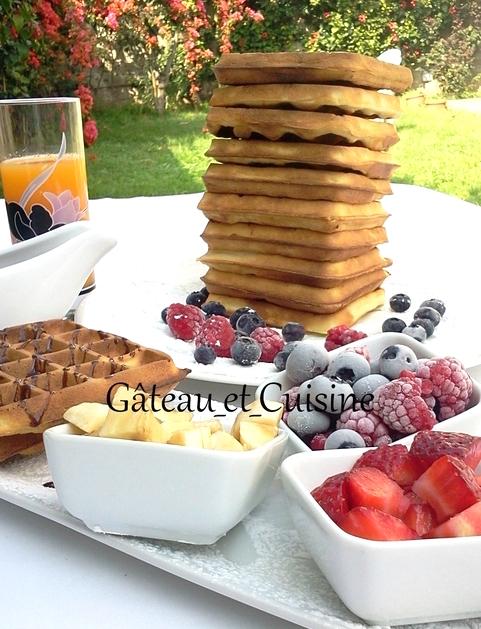 recettes gauffres cyril lignac facile croustillante et moelleuses