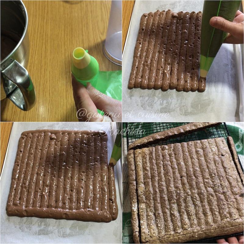biscuit cuillère chocolat tiramisu