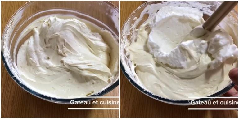 crème au mascarpone pour tiramisu