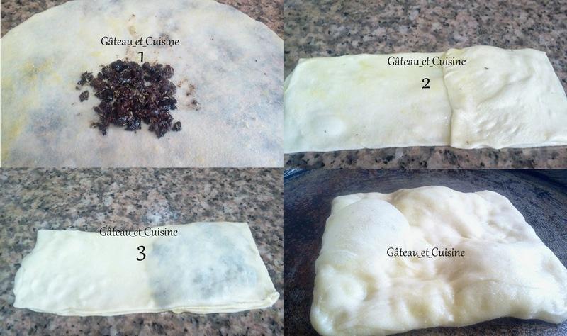 msemens à la tapenade d'olives à la grecque