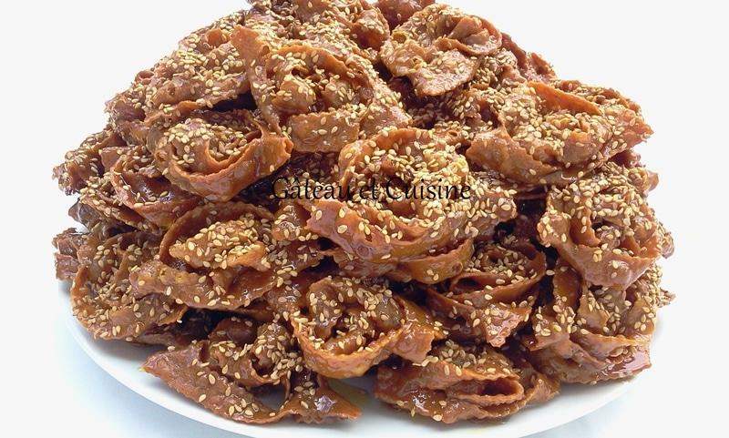 chebakia marocaine mkherka