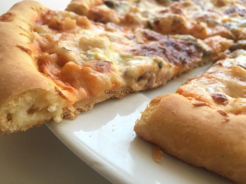 pizza aux crevettes -recette gateau et cuisine rachida