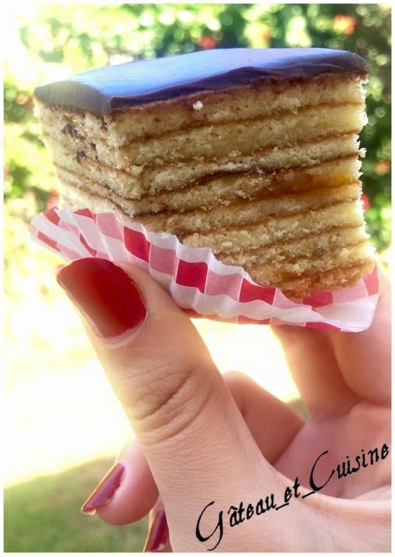 layer cake Schichttorte,gâteau aux 20 couches