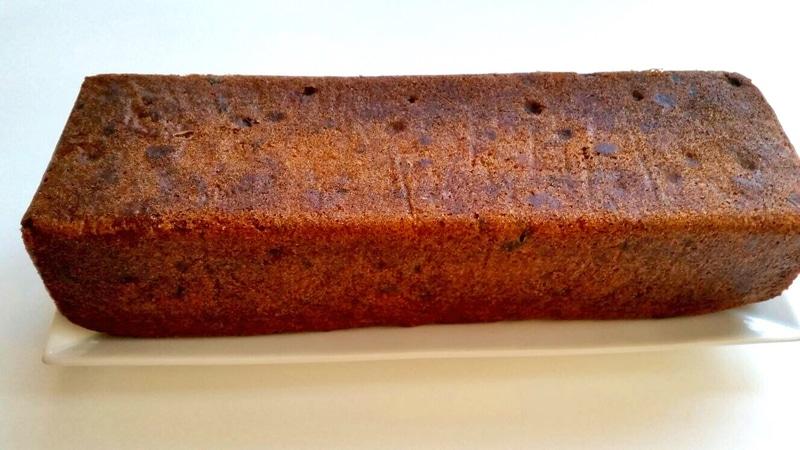cake aux fruits confits et raisins secs