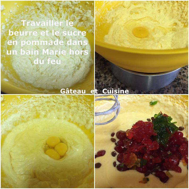 cake fruits confit