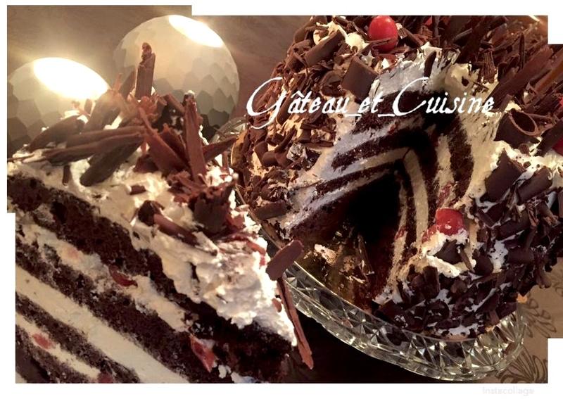 recette gâteau d'anniversaire forêt noire