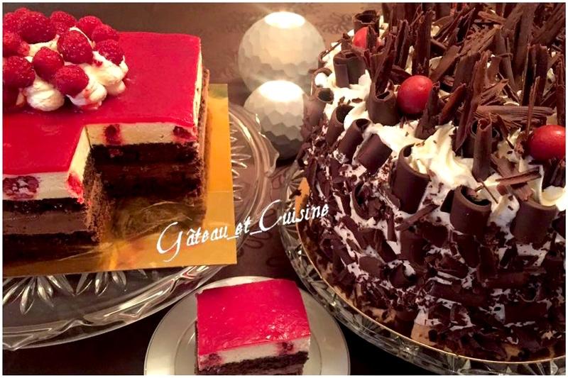 gâteau d'anniversaire forêt noire