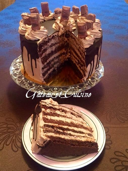 Le layer cake kinder bueno