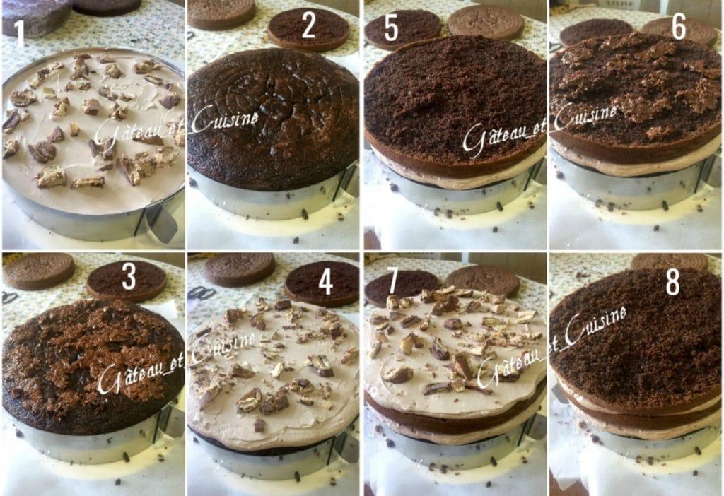 layer cake tuto montage