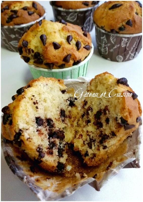 recette de muffin américain