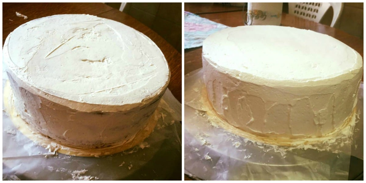 lissage layer cake