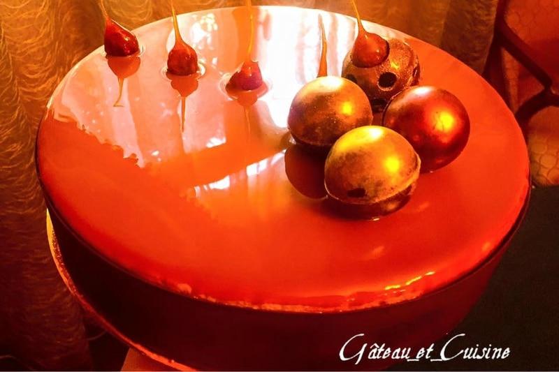 entremet noisettes praliné- recette gâteau et cuisine rachida