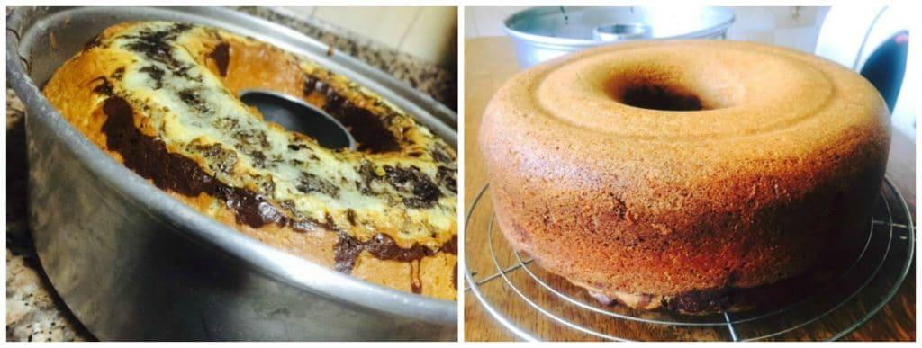 la meilleure recette du gâteau marbré au chocolat