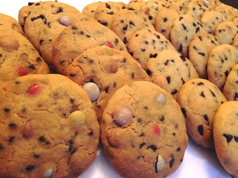 la recette des cookies très facile aux pépites de chocolat
