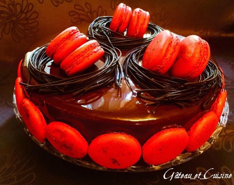 royal au chocolat ,trianon - recette cap pâtissier