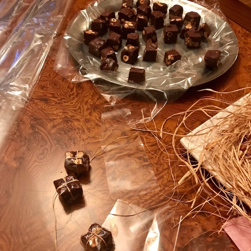 chocolat fudge noisettes