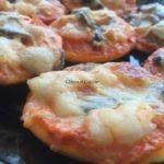 pizzas maison aux crevettes