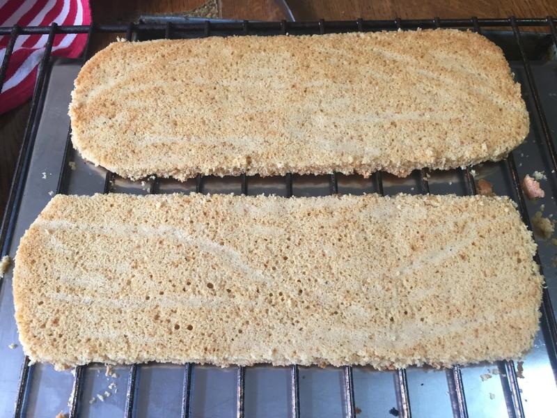 biscuit pour buche de noel