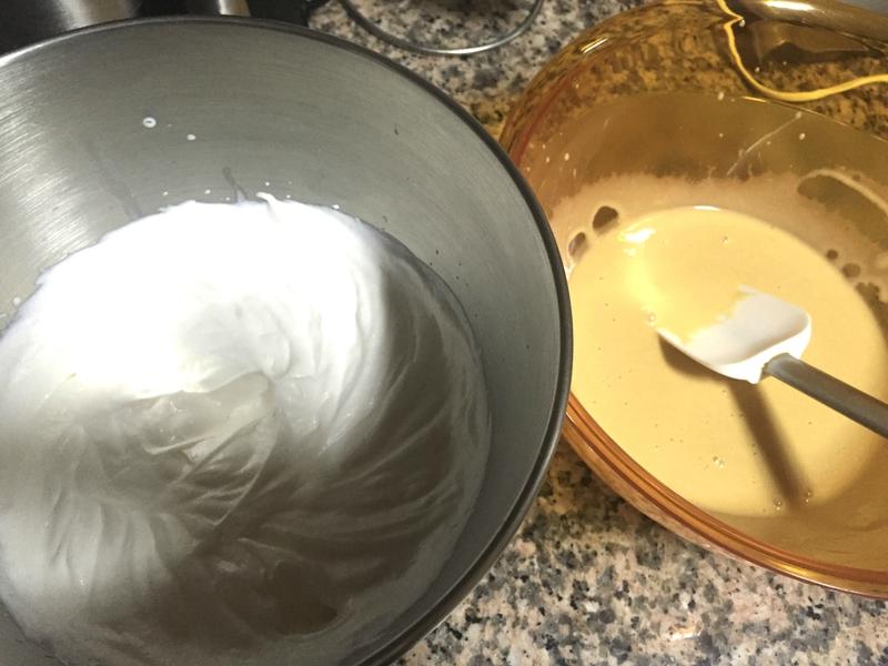 mousse caramel -buche caramel et poire