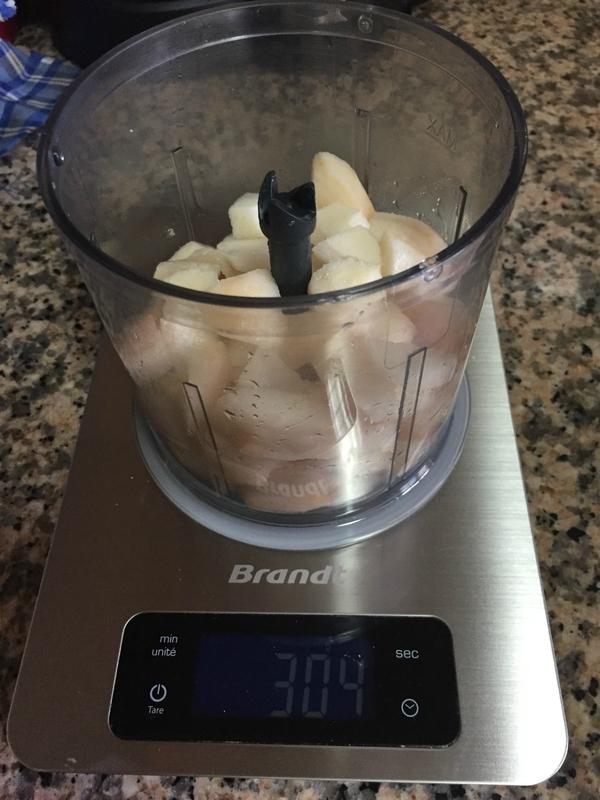 purée de poires pour insert poires pour buche de noel caramel et ganache chocolat au lait
