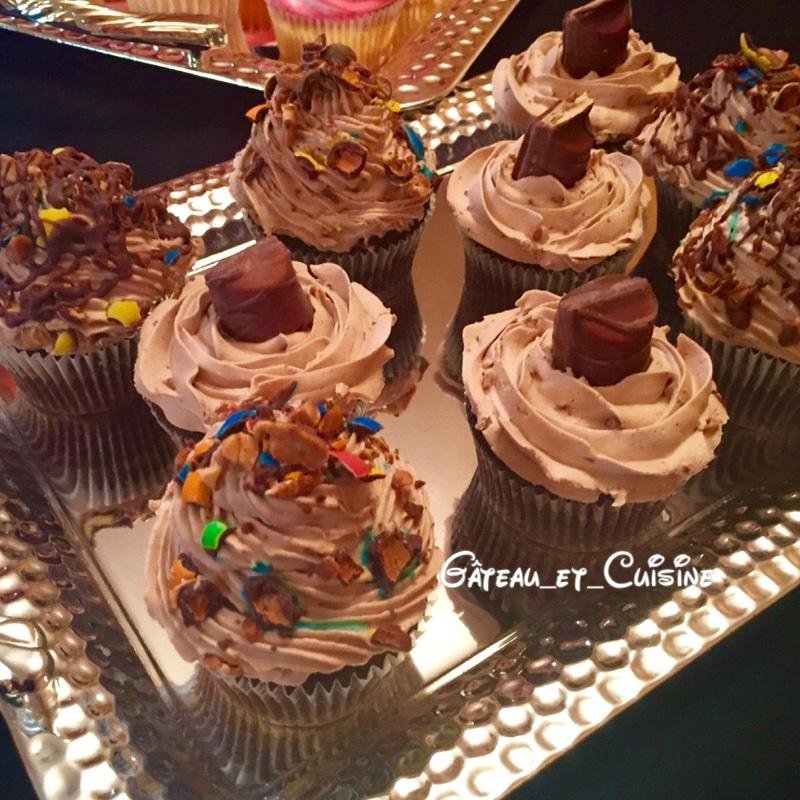 cupcake ganache chocolat facile et délicieux