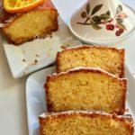 cake à l'orange imbibée de sirop