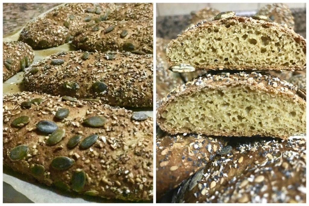 recette pain complet aux graines , pain maison