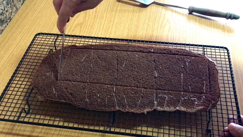 biscuit moelleux au chocolat pour buche