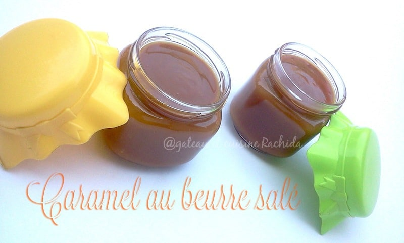 caramel au beurre salé facile et inratable