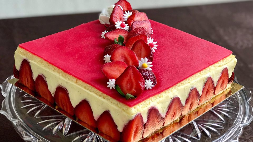 fraisier recette