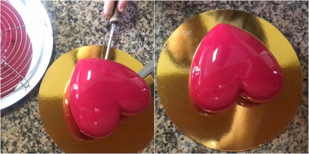 glaçage miroir recette