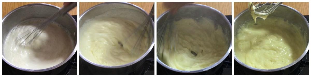 crème pâtissière pour tarte