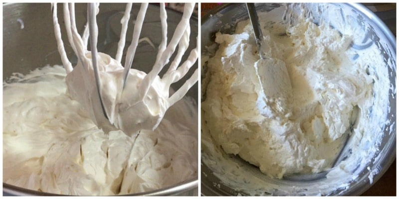 creme chantilly mascarpone -crème fouettée