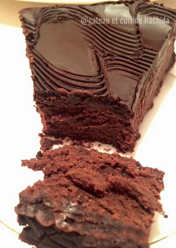gâteau chocolat et mascarpone de cyril lignac sans beurre et super fondant