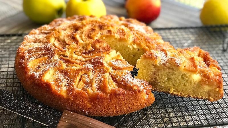 gâteau moelleux aux pommes - recette gateau et cuisine rachida