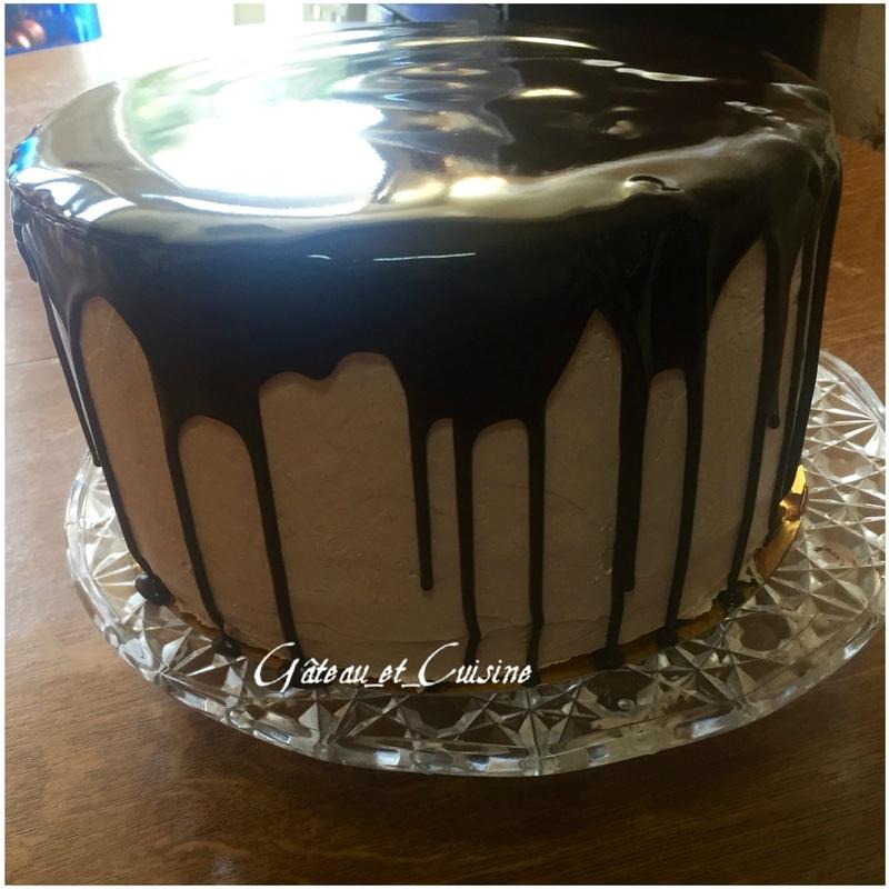 layer cake au chocolat kinder