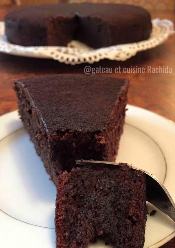gâteau au chocolat - reine de saba