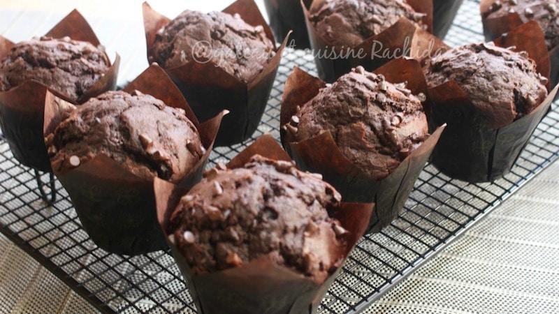 muffin tout chocolat et banane