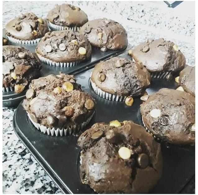 muffin au choclat