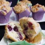 muffins myrilles et crumble